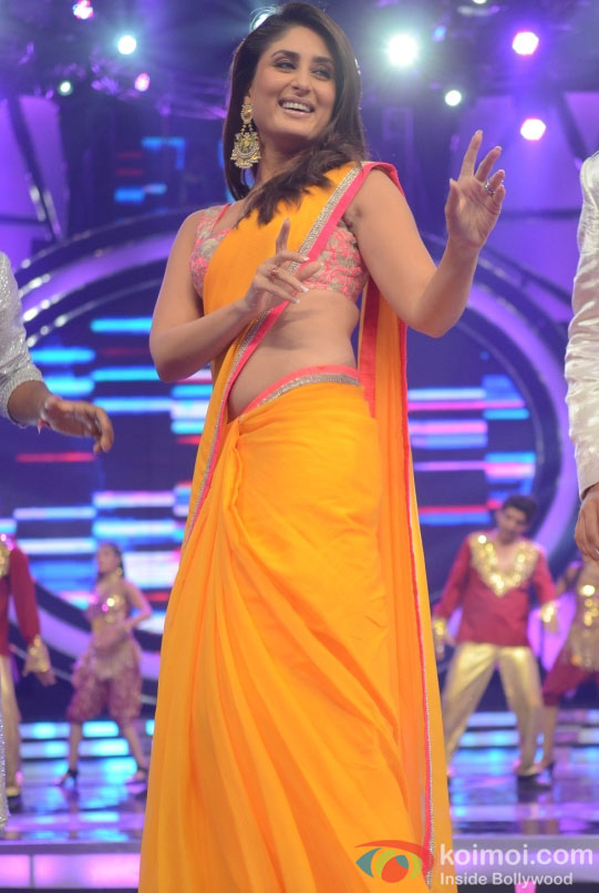 Kareena Kapoor On The Sets Of Indian Idol Season 6 Finale