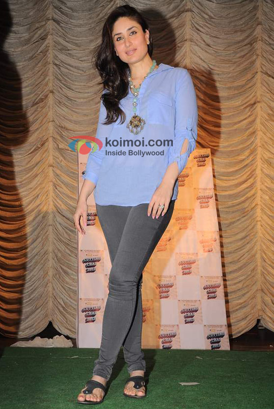 Kareena Kapoor At National College's Cutting Chai 2012 Festival Event