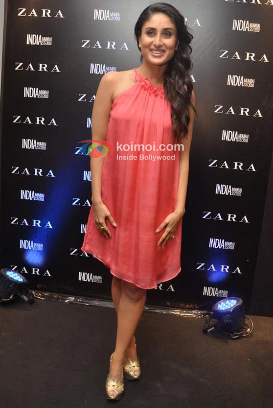 Kareena Kapoor Grace Launch Of Zara In Mumbai