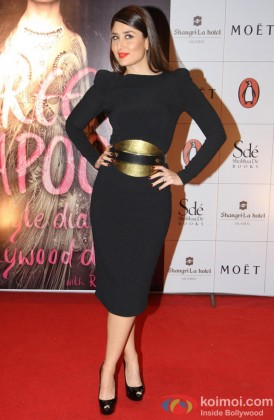 Kareena Kapoor at the launch of the book 'The Style Diary of a Bollywood Diva'