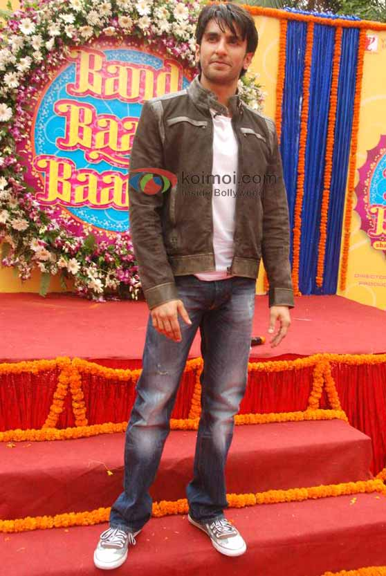 Ranveer Singh At 'Band Baaja Baaraat' Movie Photo Shoot
