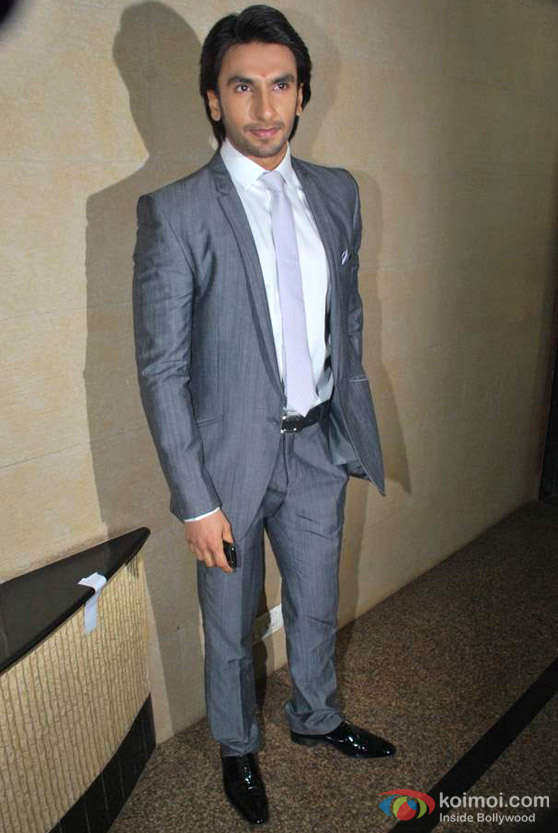 Ranveer Singh At Dadasaheb Phalke Academy Awards Event