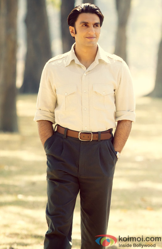 Ranveer Singh in a still from 'Lootera'