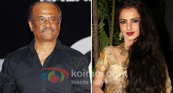 Rekha Walks Out Of Rajnikant's Rana