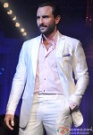 Saif Ali Khan Walks The Ramp at Aamby Valley India Bridal Fashion Week 2012 Show Day 2 Event