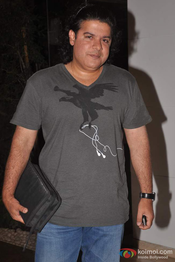 Sajid Khan At Farah Khan's House Warming Bash
