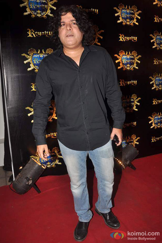 Sajid Khan At Ritesh Deshmukh-Genelia D'souza Wedding Bash