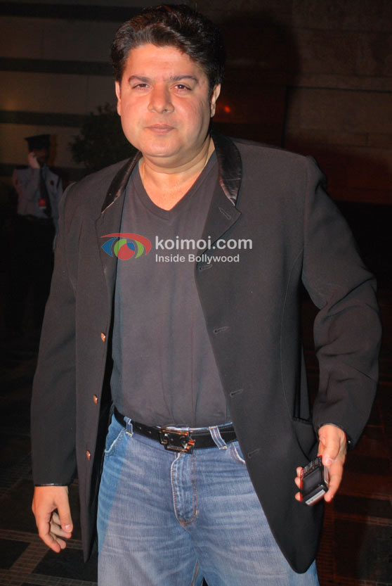 Sajid Khan At Triumph Lingerie Show Event