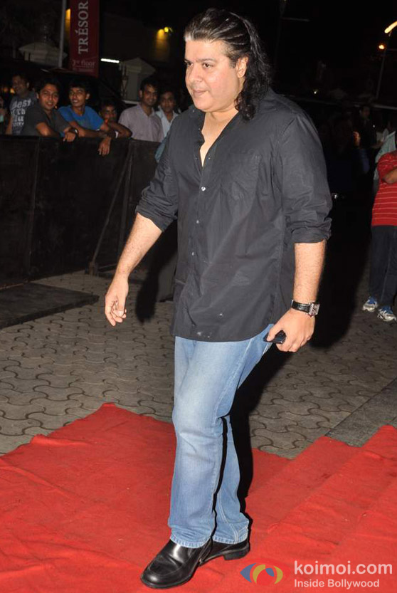 Sajid Khan at Bol Bachchan Movie Special Screening