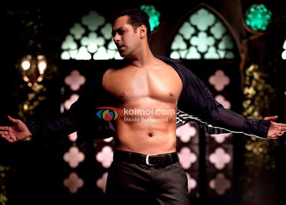 Salman Khan strikes a pose in Bodyguard Movie