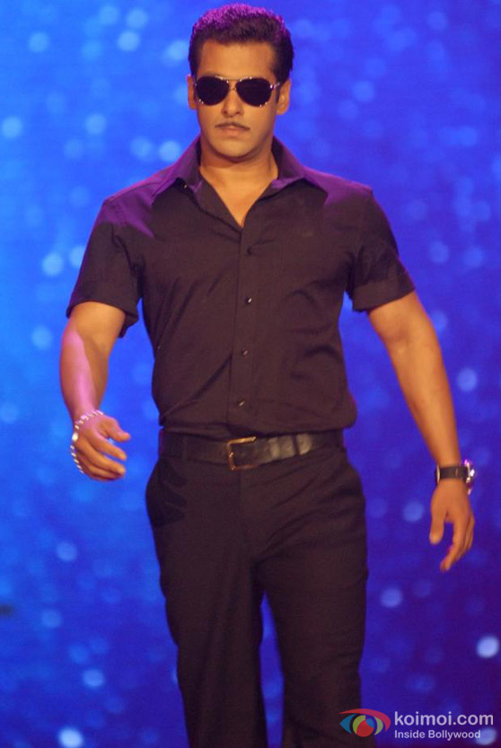 Salman Khan Ramp Walk At IIFA Fashion Show