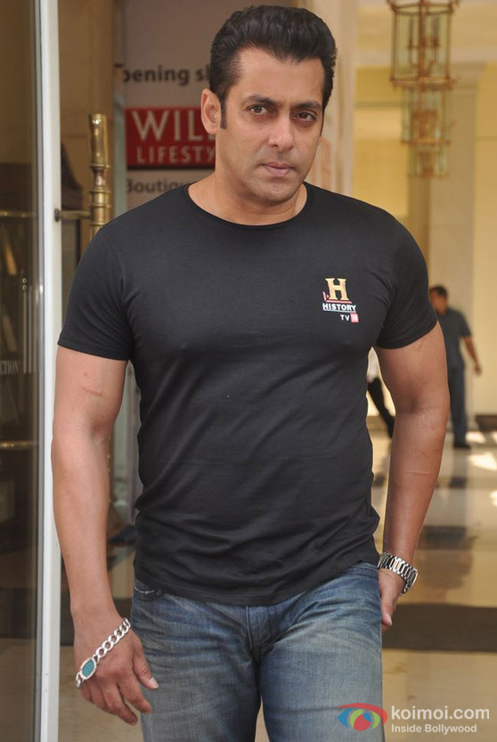 Salman Khan At History Channel Event