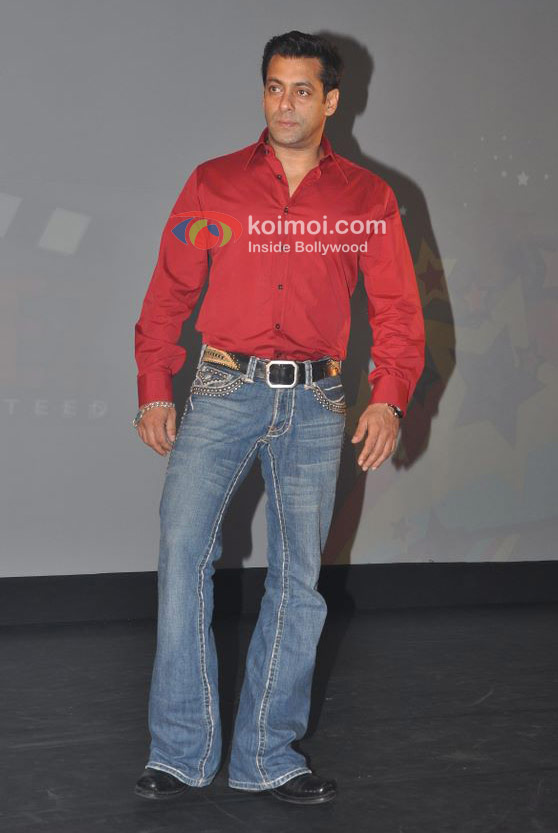 Salman Khan in a red shirt