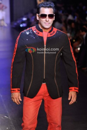 Salman Khan Ramp Walk At 'Beign Human' Fashion Show