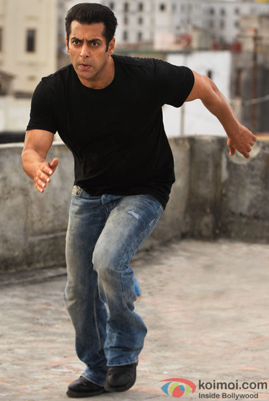 Salman Khan in an action Scene