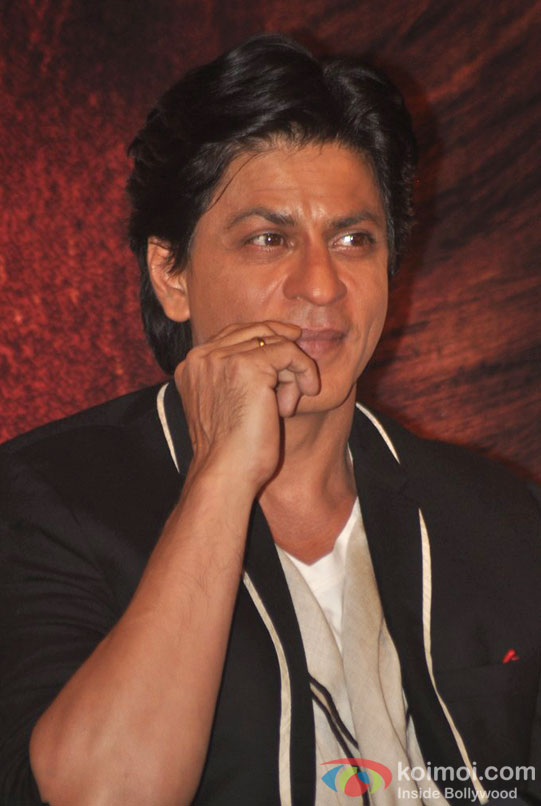 Shah Rukh Khan At Jab Tak Hai Jaan Press Conference