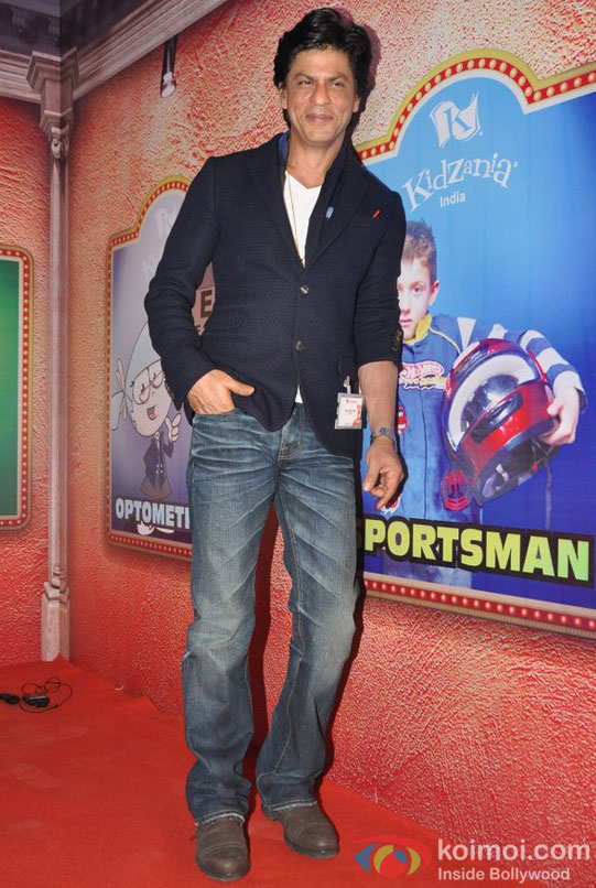 Shah Rukh Khan At R City Mall Launches 'Kidzania India'