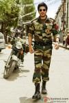Shah Rukh Khan In An Army Outfit