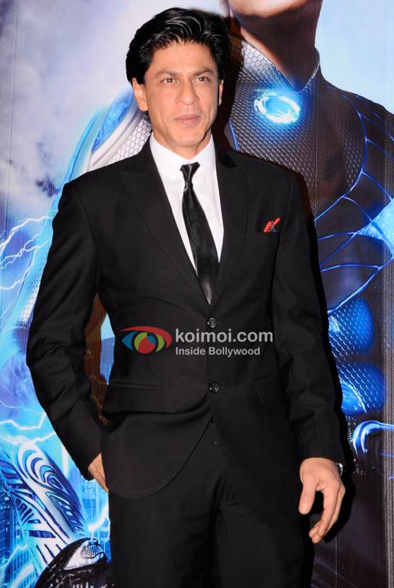 Shah Rukh Khan Promote 'Ra.One' Movie With Volkswagen Event
