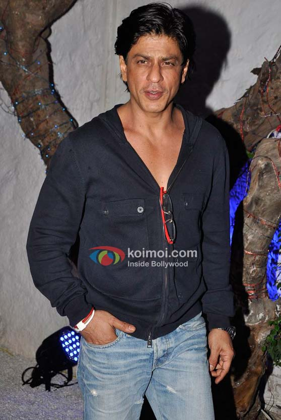 Shah Rukh Khan At Dabboo Ratnani Calendar Launch 2012 Event