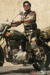Shah Rukh Khan riding bike in Ladakh
