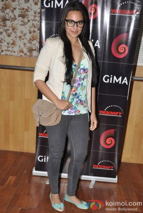 Sonakshi Sinha At Global Indian Music Academy Awards Press Conference