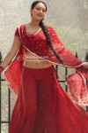 Sonakshi Sinha in hot red saree in Dabangg Movie