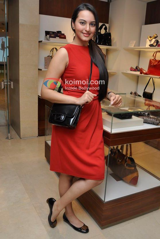 Sonakshi Sinha At Salvatore Ferragamo Collections Launch Event