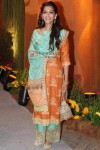 Sonam Kapoor In Dress At Venugopal Dhoot's Daughter Wedding