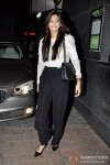Sonam Kapoor At 'Desi Boyz' Movie Screening