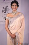 Sonam Kapoor at the announcement of India's first India gem and jewellery fair