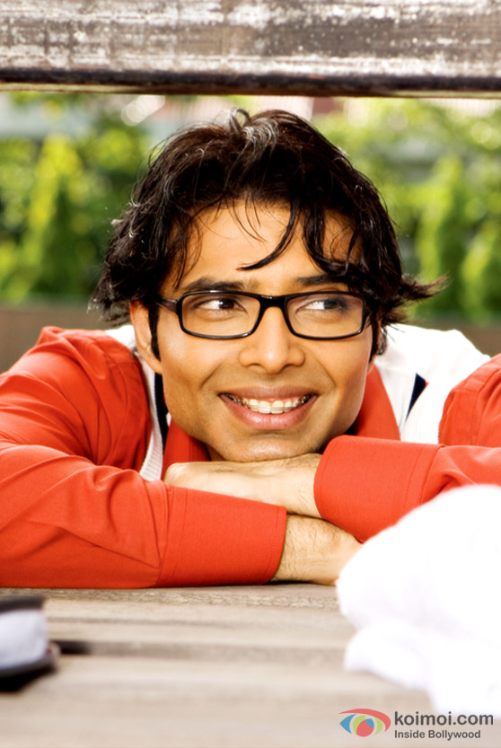 Uday Chopra as a geek in Pyaar Impossible Movie