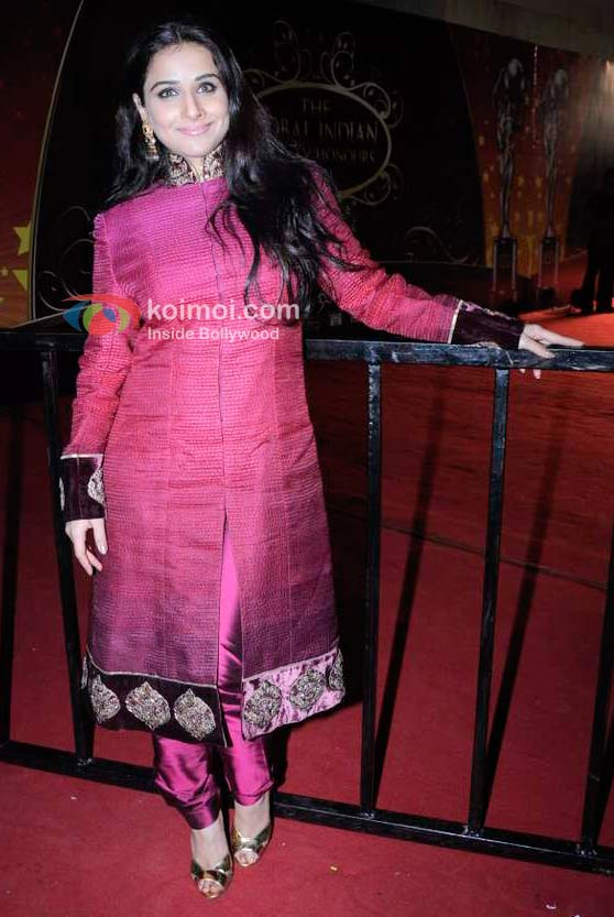 Vidya Balan At 1st Global Indian Film & Television Honors 2011 Event