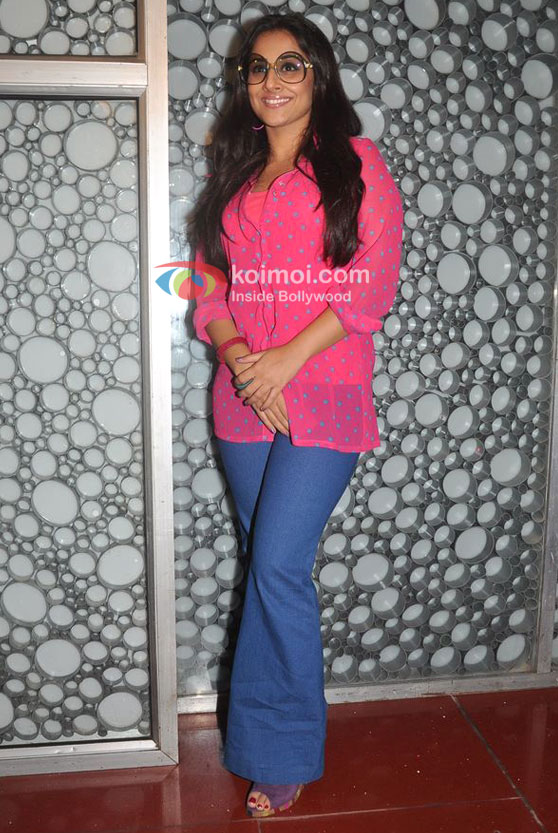 Vidya Balan At A Meet With 'The Dirty Picture' Patrons