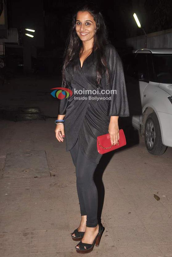 Vidya Balan At Niharika Khan's House Bash Event
