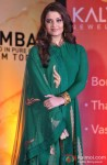 Aishwarya Rai poses during the opening ceremony of Kalyan Jewellers