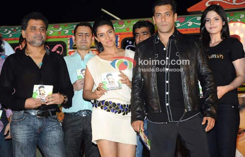 Anees Bazmee, Asin, Salman Khan, Zarine Khan (Ready Movie Music Launch)