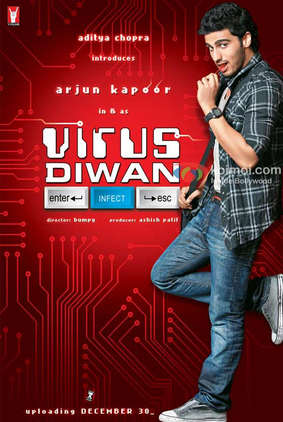 Arjun Kapoor (Virus Diwan Movie Poster)