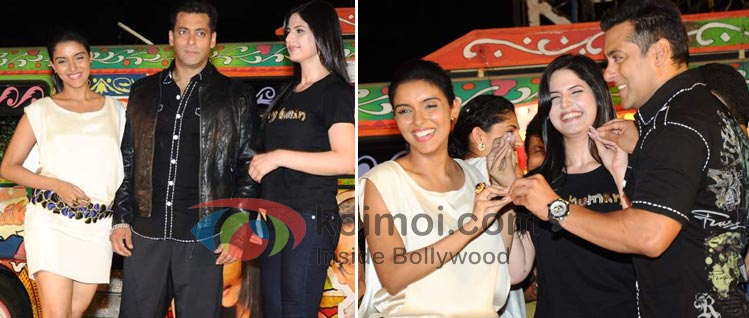 Asin, Salman Khan, Zarine Khan (Ready Movie Music Launch)
