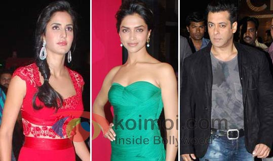 Katrina Kaif Out, Deepika Padukone In Salman Khan's Next?
