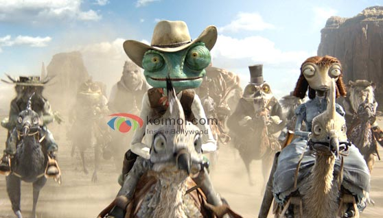 Rango Review (Rango Movie Stills)