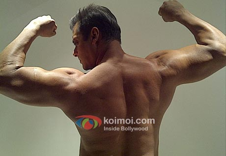 Salman Khan's Bodybuilding Pictures! (Salman Khan Showing His Body, Salman Khan Body)