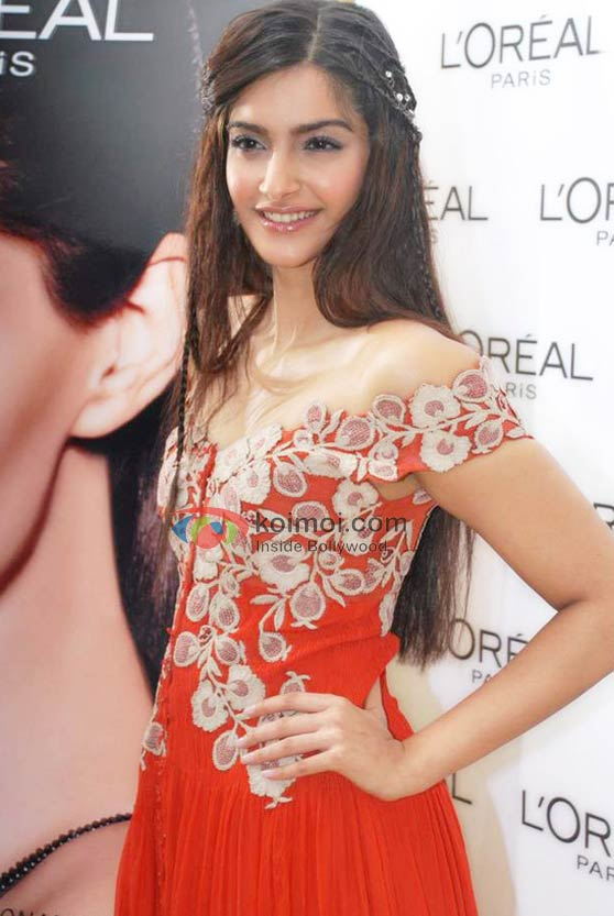 Sonam Kapoor In A Floral Dress