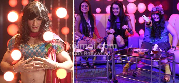 The Mutton Song: Behind The Scenes (Taaha Shah, Shraddha Kapoor 'Mutton Song' Luv Ka The End Movie Stills)