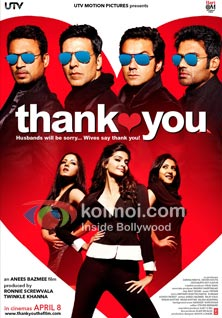 Thank You: Poor Promotion... Dull Initial, Thank You Movie Box Office Report (Thank You Movie Poster)