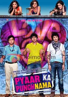 Pyaar Ka Punchnama Review (Pyaar Ka Punchnama Movie Poster)