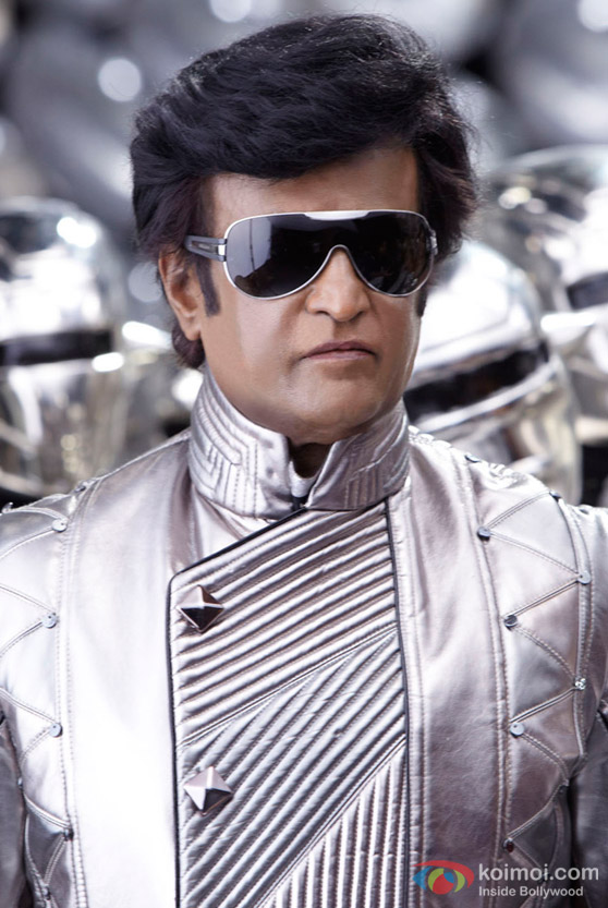Robotic Rajnikanth in Endhiran The Robot Movie