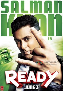 Salman Khan Ready Movie Poster