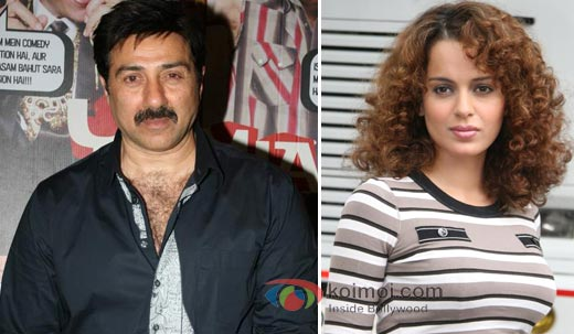 Sunny Deol and Kangana will come together for I Love New Year.