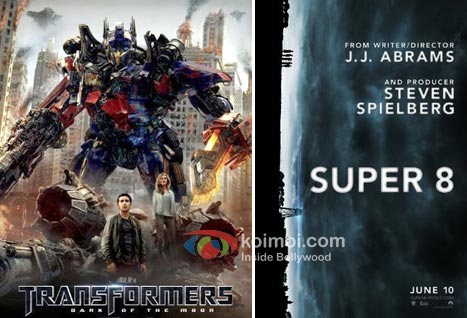 Transformers 3 Movie Poster, Super 8 Movie Poster